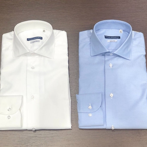 Camicia slim oxford stretch