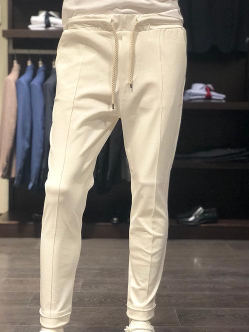 Pantaloni con laccio 2 colori