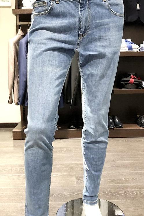 Jeans delavèe 5 lavaggi colore