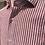 Thumbnail: Camicia rigata cotone effetto lino 4 colori