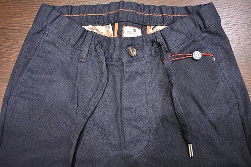 Pantalone microresca con coulisse