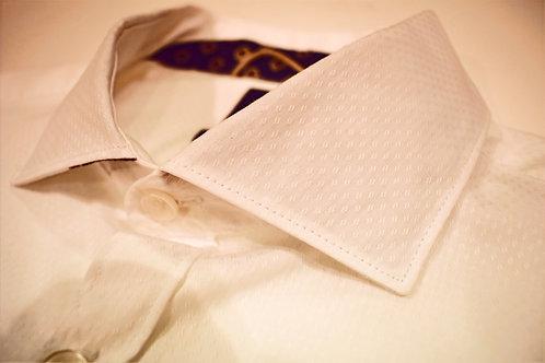 Camicia in jacquard
