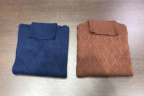 Dolcevita lana lavorata losanghe