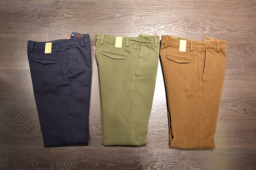 Pantaloni resca cotone