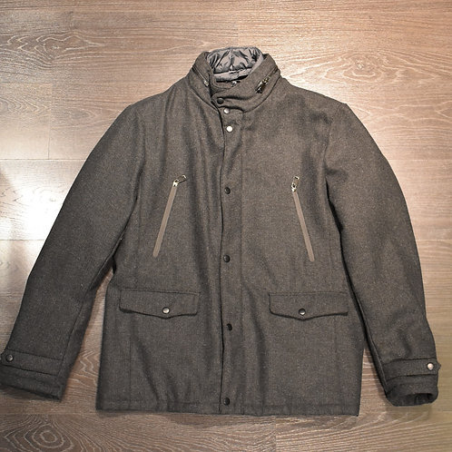 Sahariana lana con pettorina