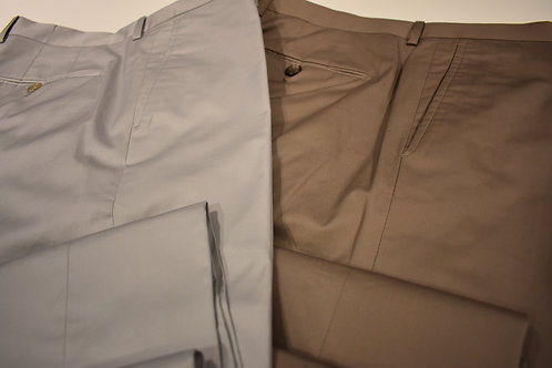 Pantaloni gabardine cotone