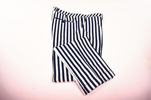 Pantaloni stampa riga