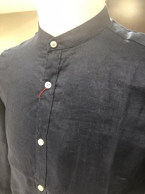 Camicia coreana 100% lino 3 colori