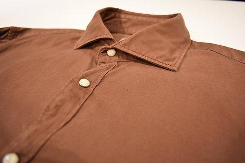 Camicia in gabardine