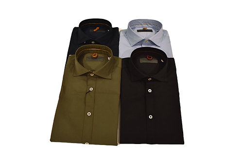 Camicia slim elasticizzata