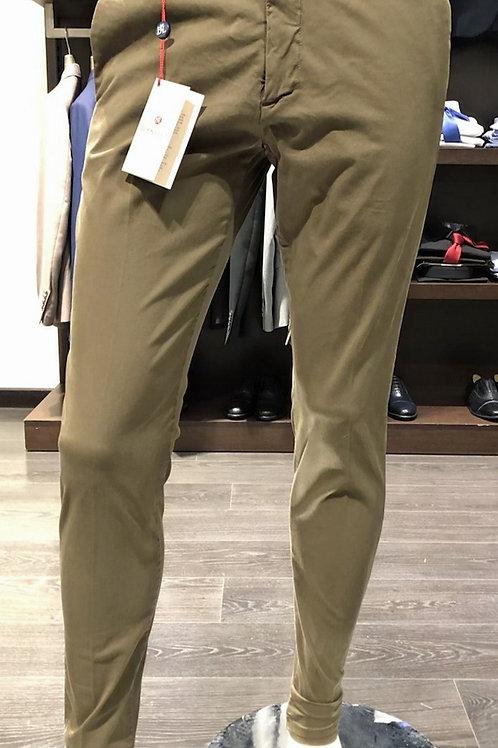 Pantaloni chinos cotone gabardine 3 colori