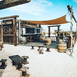 Dirt Hartog Island Information Booth