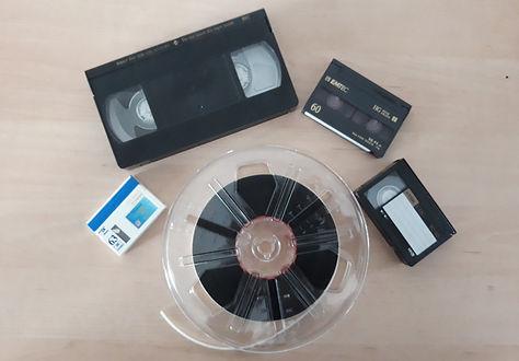 VHS Kassette, High8,VHS-C, Mini DV, Super 8 Rolle