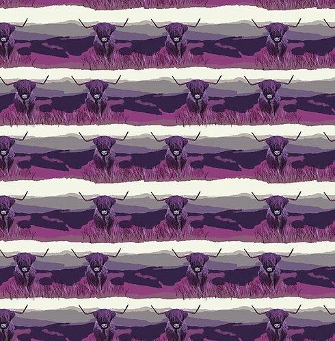 Highland Cows (Purple) - 12m +