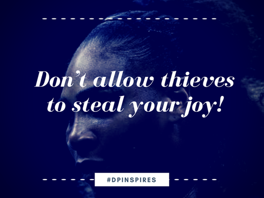 Don't Allow Thieves to Steal Your Joy