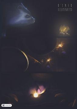Illuminated - short film Poster