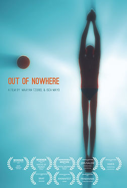 short film Out of Nowhere directed by Isca Mayo and Maayan Tzuriel  2012