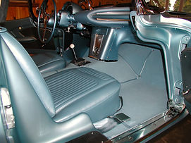 Interior Restored by Twin Oaks Corvette