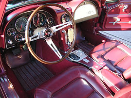 Interior restoration by Twin Oaks Corvette