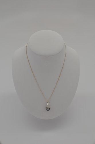 Gray Tahitian Pearl Pendant