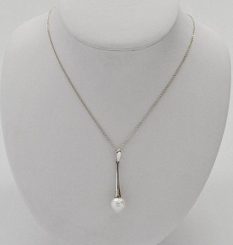 Baroque Edison Freshwater Pearl Pendant
