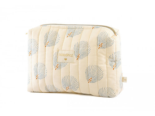 Trousse de toilette Nobodinoz Travel blue gatsby cream