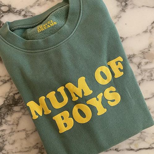 Sweat MUM OF BOYS vert
