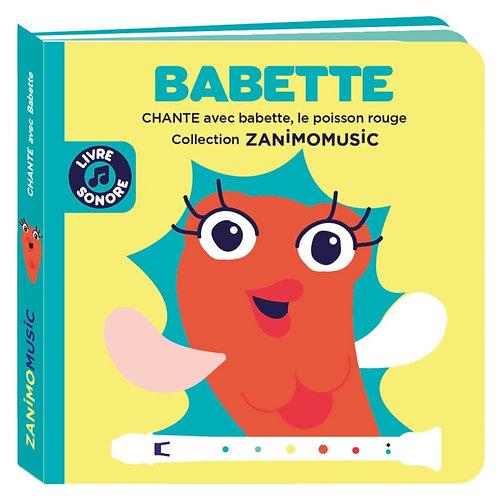 Livre sonore BABETTE