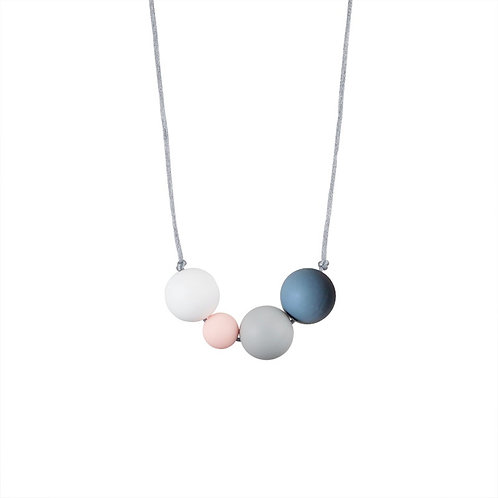 Collier MintyWendy Love Actually gris