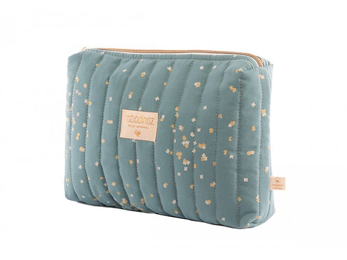 Trousse de toilette Nobodinoz Travel gold confetti magic green