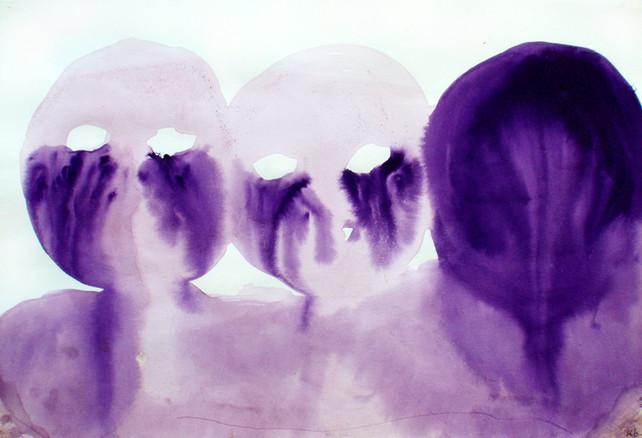 Tête violette 3 (les triplés)