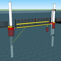 Port Security Barrier, PSB, floating barrier, boat barrier, anti-terrorism barrier, harbor barrier, harbor barrier, marine barrier, maritime barrier