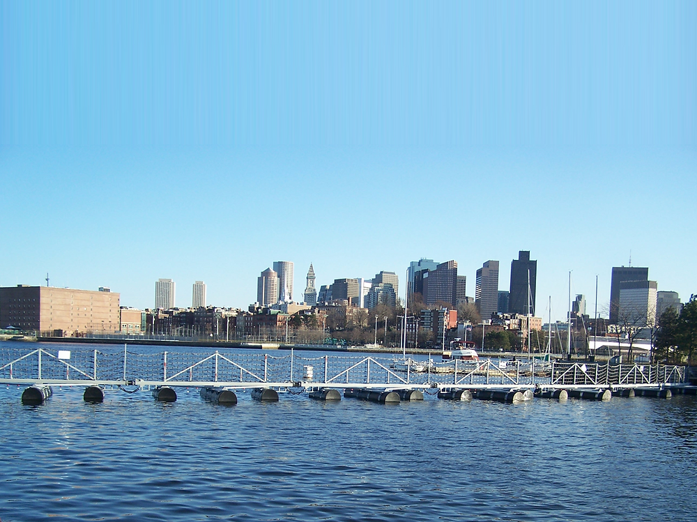 Truston Barriers - Boston Skyline
