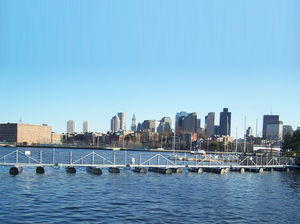 Truston Barriers - Boston Skyline