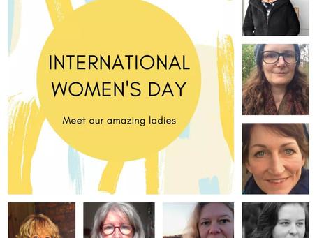 International Women's Day - Meet the Team