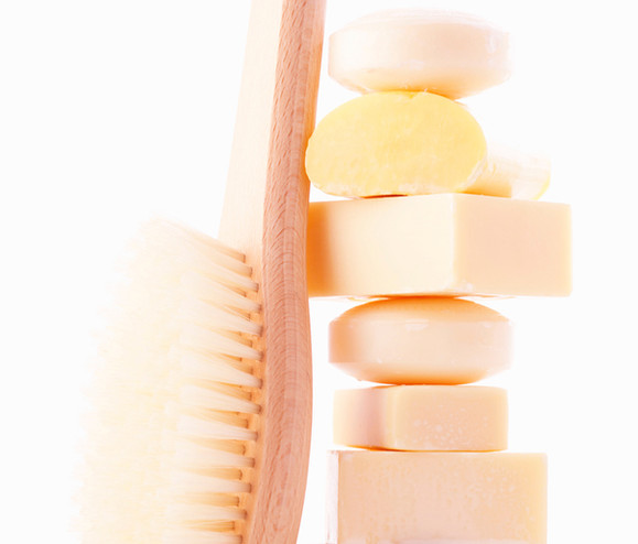 Bath Brush and Soap