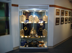 Cabinet with Torah Covers, #2.jpg