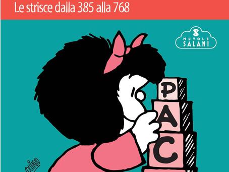 En las librerías italianas la nueva edición de los libritos de Mafalda.