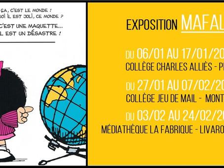 Mafalda, une petite fille de 50 ans en Francia