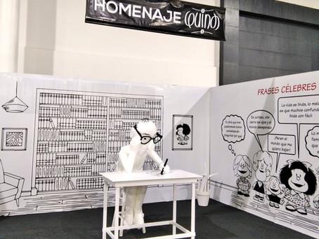Un espacio para recordar a Quino en la FIL de Guayaquil