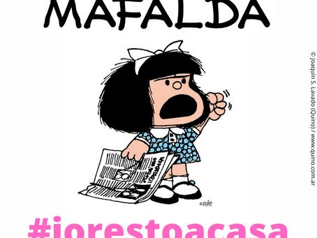 Italia un país en cuarantena por coronavirus, la petición de Mafalda.