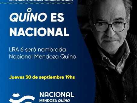 """Radio Nacional Mendoza pasó  a llamarse  """"LRA6 Mendoza Quino"""""""