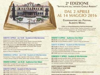 Sara Magnoli al Festival della Letteratura di Villa Borromeo ad Arcore