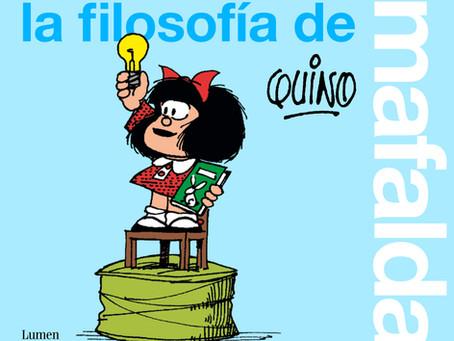 """El nuevo libro """"La filosofía de Mafalda"""" en las librerías españolas."""