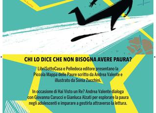"""Presentazione del libro """"Piccola mappa delle paure"""" di Andrea Valente"""