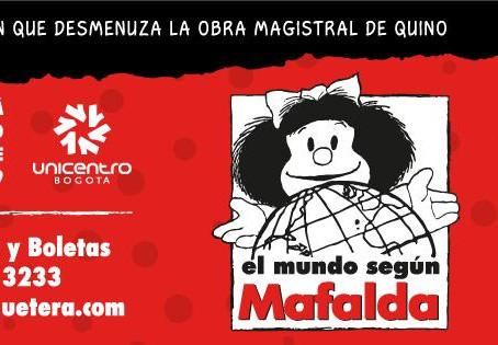 """La exposición """"El mundo según Mafalda"""" llega a Bogotá"""