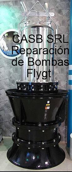REPARACION DE BOMBAS SUMERGIBLES FLYGT EN ARGENTINA