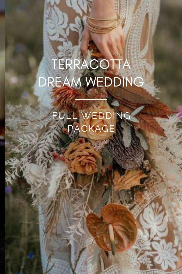 Terracotta dream wedding full wedding package