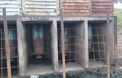 REPARACION DE BOMBAS ESTACION DE BOMBEO CANAL