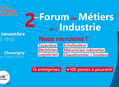 Forum des Métiers de l'Industrie #2